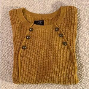 Abercrombie Sweater 🧡💛